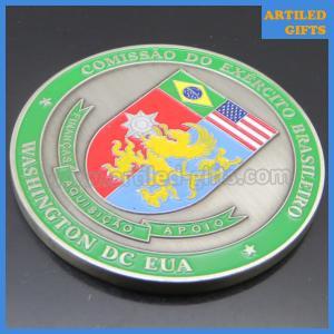 Quality Comissao Do Exercito Brasileiro EUA Washington DC USA Brazilian Army commemorative coin wholesale