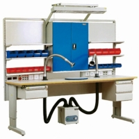 Quality Laboratory Electronic 300KG  Stainless Steel ESD Workbenches wholesale