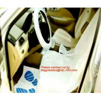 Quality Nylon seat cover Reusable seat cover car seats Steering wheel cover foil Disposable car carpet cover Disposable seat cov wholesale