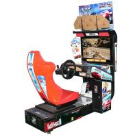 Quality Entertainment Racing Arcade Machine / Indoor Outrun Arcade Cabinet wholesale