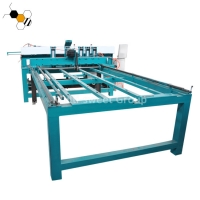 Quality Electronic CNC Timber Cut Off Saw 1.1kw Beehive Frame Assembly Machine wholesale
