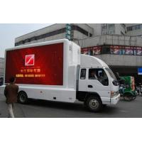 Quality 220V / 50HZ P10 IP65 Electronic Moving Video Led Mobile Billboard on Vehicles For Exhibition wholesale