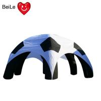 Quality Spider shaped Event customized size advertising inflatable soccer tent wholesale