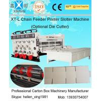 Buy cheap Auto Chrome Carton Making Machine 60pcs/min With Chain Feeding Model For from wholesalers