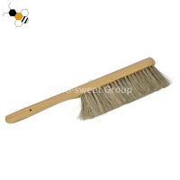 Quality Double Horse Tail Bee Brush For Beekeeper Apiculture Tools wholesale