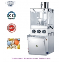 Buy cheap Small-scale Batch Production Pill Candy Tablet Making Machine 50KN Different from wholesalers
