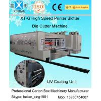 Quality Corrugated Carton Making Machine 15kw - 30kw With 0.5mm High Topping Precision wholesale