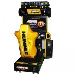 Quality Hummer Racing Arcade Machine 300W 110V / 220V Drive Arcade Racing Games wholesale