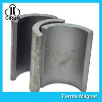 Quality Industrial Ferrite Arc Magnet For Treadmill Motor / Water Pumps / Dc Motor wholesale