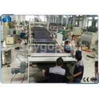 Quality Automatic PVC Board / Plastic Sheet Making Machine Extrusion Line High Precision wholesale
