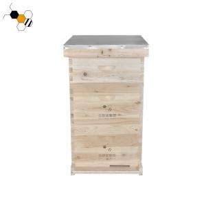 Quality 20mm Thickness Langstroth Beehive 3 Layers 10 Frames Bee Hive wholesale