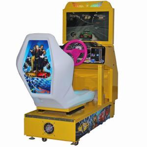 Quality Kids Arcade Machine / Car Racing Game Machine Arcade Game wholesale