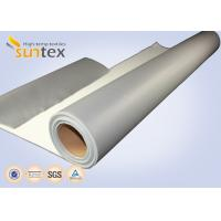 Quality SUNTEX One Side Silicone Coated Fiberglass Cloth Steam Pipe Insulation Material wholesale