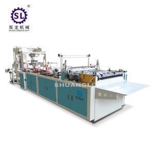 Quality Slef-closing zipper bag making machine automatic polythene 12.8kw Power wholesale