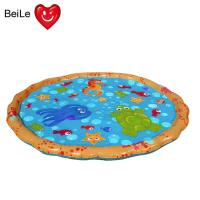 Quality Popular 0.23mm PVC material inflatable baby water play mat wholesale