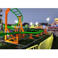 Quality 12 Seats 380V Kiddie Roller Coaster With Ethnic Characteristics Decoration wholesale
