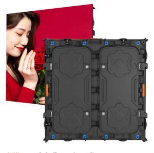 Quality 1R1G1B Indoor Rental Led Display , Led Video Wall Curtain 1200cd/m2 Brightness wholesale