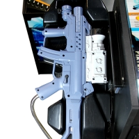 Quality 110v Shooting Arcade Machine 2 Players Classic Shooter Games wholesale