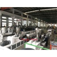 Quality Conical Double Screw Extruder , Plastic Extrusion Machine For PVC Material Product wholesale