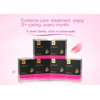 Quality Fluorescence / Formaldehyde Free Female Sanitary Towels ISO 9001:2008 / SGS Certified wholesale