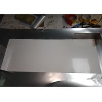 Quality Stable Size White PET Reflective Film , High Gloss White Film For Light Source Reflection wholesale
