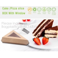 Quality Triangle Food SLICE CAKE BOX, Salad, HUMBURGER BOX, BOAT TRAY, LUNCH BOX, HANDLER, CARRIER, BOWL, CUP wholesale