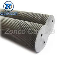 China Two Holes Carbide Blanks Round For Making Tungsten Carbide Cutting Tools on sale