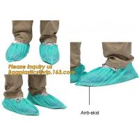 Quality Disposable Blue waterproof rain boot/shoe covers,rain cover for shoes,Eco-friendly Professional Shoe cover made in China wholesale