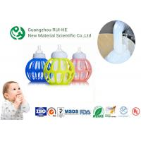 Quality Nipple Liquid Silicone Rubber Food Grade RH5350 - 40 High Transparency  for Baby Supplies wholesale