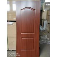 Quality Height 2150mm HDF Door Skin 3mm / 4mm Thickness Natural Veneer Surface wholesale