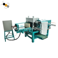 Quality 615MM Board Beehive Box Joint Machine With Pneumatic Pump wholesale