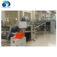 Quality Energy Saving TPE Sheet Extrusion Line With Spiral Feeding 200~380kg/H wholesale