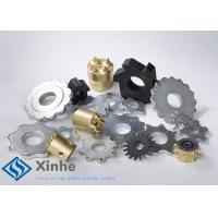 Quality Reloadable Tungsten Carbide Tipped Cutters / Tct Inserts For All Concrete Texturing wholesale