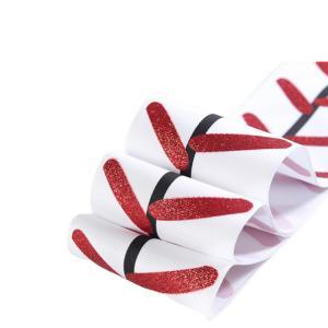 Quality Grosgrain Personalized Wedding Ribbon , Single Face Wedding Decoration Ribbon wholesale