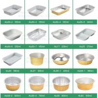 Quality Microwave Disposable Aluminum Foil Pizza Baking Tray Pans Container Sizes,Pan Box Trays Takeaway Container,Kitchen And B wholesale