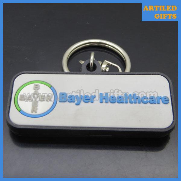 Bayer Company healthcare PVC keychains 1