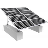 Quality Solar Photovoltaic RV Solar Mounting Systems , 0-60 Degree Solar Panel Roof Mounting Kits wholesale