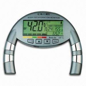 Quality Body Fat Analyzer with 37.8 to 66.0% Body Hydration Measure Range wholesale