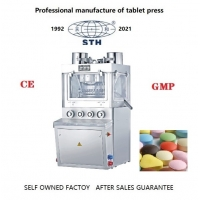 Quality 80KN Pill Compression Machine 4KW Rotary Tablet Compression Machine wholesale