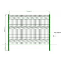 Buy cheap Green Powder Coated Welded Wire Mesh , Galvanized Welded Wire Fabric Eco Friendly from wholesalers