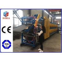 Quality Full Automatic Rubber Sheet Cooling Machine , 380/50Hz Rubber Batch Off Machine wholesale