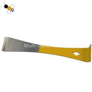 Quality American Hive Tool With Half Yellow Painting Apiculture Tools wholesale