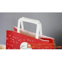Quality Multicolor paper gift bag, colorful kraft paper shopping bag, Recycled Flat Handle Brown Krafts Paper Bags Custom, Chris wholesale