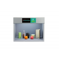 Quality B6006 Metal color assessment cabinet with D65/TL84/TL83/CWF/UV/F color light box used in plastic,ink,comestic,printing wholesale