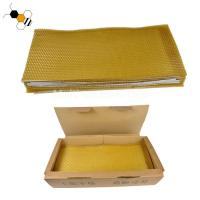 Quality Yellow 72g 80g Pure Beeswax Bee Foundation Sheets wholesale