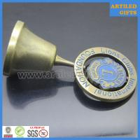 Quality Antique imitation gold Lions Club International Foundation dinner bell wholesale