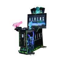Quality Aliens Shooting Arcade Game Machine / Two Player Video Game Machine wholesale