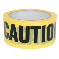 Quality Yellow PE Warning Tape(Barrier Caution Tape),Red DANGER Tape Caution Tape Roll 3-Inch Non-Adhesive Sharp Red Color Warni wholesale
