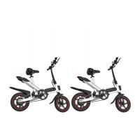 Quality 12 Inch Leisure Portable Foldable Electric Bicycle Aluminum Alloy Frame wholesale