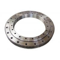 Quality Single Row Four Point Contact Ball Slewing Ring Bearings External Gear For Axial Load wholesale